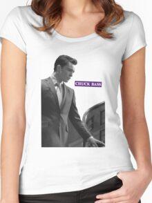 I'm...Chuck Bass Women's Fitted Scoop T-Shirt