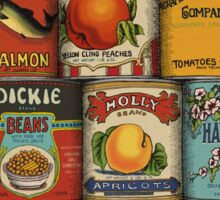 Canned Sticker
