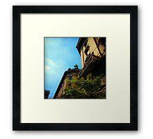 Bologna Sky Framed Print