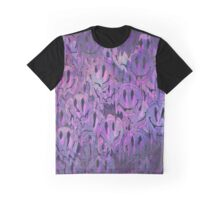 Melting Galaxy Smiley Face Graphic T-Shirt