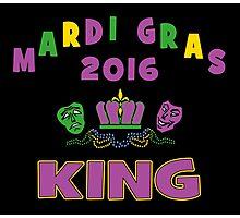 Mardi Gras King 2016 New Orleans NOLA 2016 Photographic Print