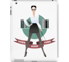 The personnel manager iPad Case/Skin