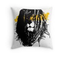 Lion rasta Throw Pillow