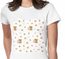 Rilakkuma Cat/Neko Kawaii Design  Womens Fitted T-Shirt