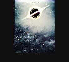 Black Hole Fictional Teaser Movie Poster Design Unisex T-Shirt