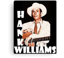Hank Williams Canvas Print
