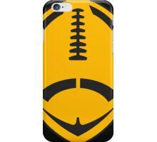 Gold Vector Football iPhone Case/Skin