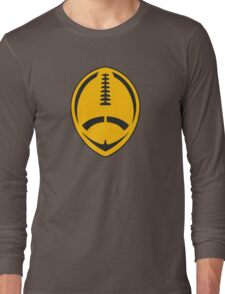 Gold Vector Football Long Sleeve T-Shirt