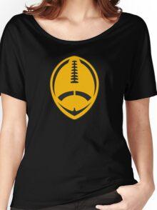 Gold Vector Football Women's Relaxed Fit T-Shirt