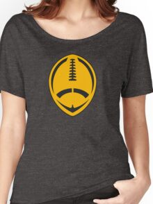 Gold Vector Football Women's Relaxed Fit T-Shirt