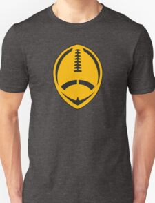 Gold Vector Football Unisex T-Shirt