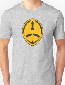 Gold Vector Football Unisex T-Shirt