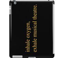 Exhale musical theatre. iPad Case/Skin
