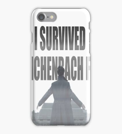 Reichenbach Fall iPhone Case/Skin