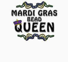 Mardi Gras Bead Queen New Orleans NOLA Womens Fitted T-Shirt