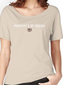 The Walking Dead - Property Of Negan - Grunge Women's Relaxed Fit T-Shirt