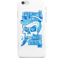Blue Pierce The Veil Skull iPhone Case/Skin
