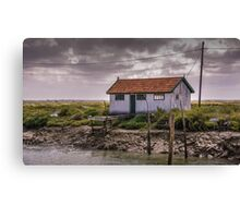 Oyster Shack Canvas Print