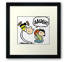 Charlie and Lucy Framed Print