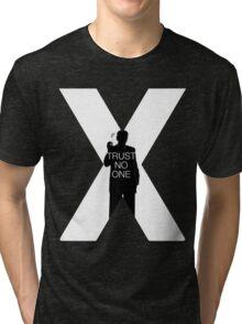 ♥♥♥ TRUST NO ONE X FILES ♥♥♥ Tri-blend T-Shirt