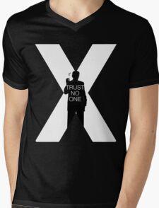 ♥♥♥ TRUST NO ONE X FILES ♥♥♥ Mens V-Neck T-Shirt