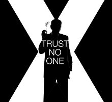 ♥♥♥ TRUST NO ONE X FILES ♥♥♥ by weeaboofactory