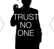 ♥♥♥ TRUST NO ONE X FILES ♥♥♥ Sticker