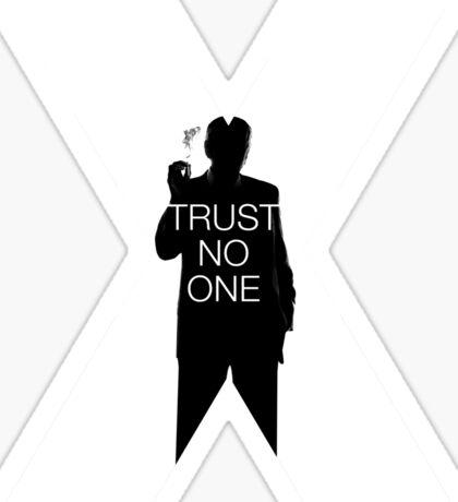 ♥♥♥ TRUST NO ONE X FILES ♥♥♥ Sticker