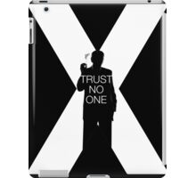 ♥♥♥ TRUST NO ONE X FILES ♥♥♥ iPad Case/Skin