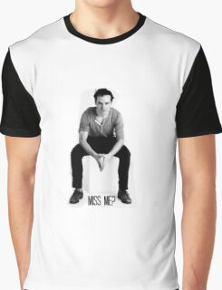 Jim Moriarity - Miss Me? Graphic T-Shirt