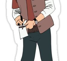 Robert Carlyle - Dr. Nicholas Rush Sticker