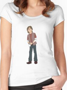 Robert Carlyle - Dr. Nicholas Rush Women's Fitted Scoop T-Shirt