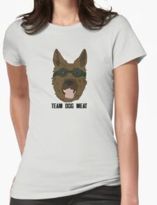 Team Dog Meat Womens Fitted T-Shirt