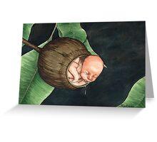 Gumnut Baby Greeting Card