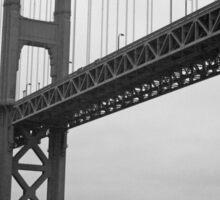 Golden Gate Bridge   San Francisco Sticker