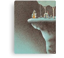 The Secluded Community Canvas Print