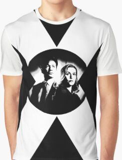 ♥♥♥ MULDER & SCULLY X FILES ♥♥♥ Graphic T-Shirt