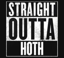 Straight Outta Hoth Kids Tee