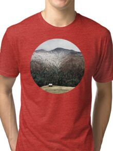 Cabin in the woods Tri-blend T-Shirt