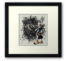 Sora heart world Framed Print
