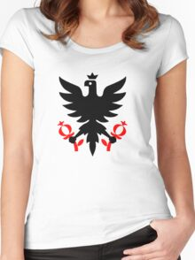 Imperial Eagle of the Seal of Bogota, Colombia. Women's Fitted Scoop T-Shirt