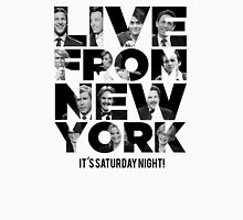 Live From New York, It's Saturday Night - Saturday Night Live Unisex T-Shirt