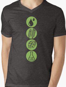 BEER: Water, Barley, Hops & Yeast Mens V-Neck T-Shirt