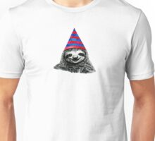 Party Sloth Unisex T-Shirt