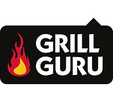 I am a grill guru! Photographic Print