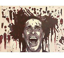 Christian Bale- American Psycho  Photographic Print