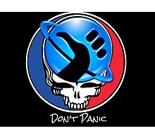 Steal Your Face, But Don't Panic Photographic Print