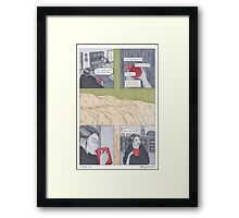 The Anchor and Owl - Page 2 Framed Print
