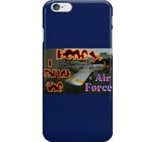 Honey, I Shrunk The Air Force, Tyabb 2012 iPhone Case/Skin