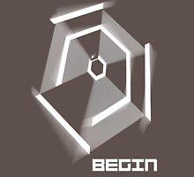 Hyper Hexagonest Begin Unisex T-Shirt